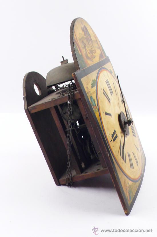 Relojes de pared: Reloj tipo ratera, de una campana. - Foto 6 - 21628574