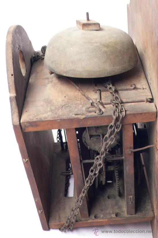 Relojes de pared: Reloj tipo ratera, de una campana. - Foto 5 - 21628574