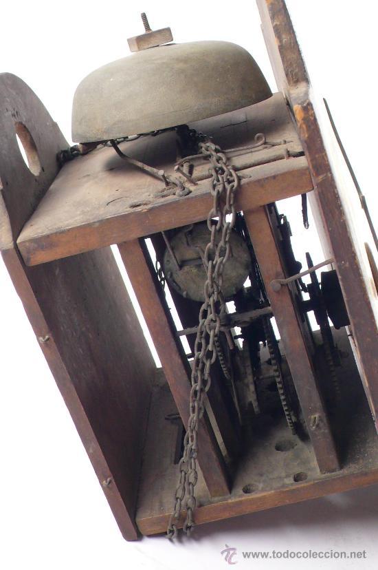 Relojes de pared: Reloj tipo ratera, de una campana. - Foto 3 - 21628574