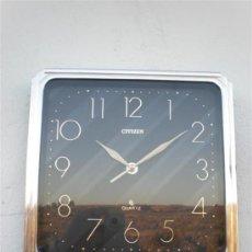 Relojes de pared: RELOJ DE PARED AUTOMATICO CITIZEN QUOARTZ. Lote 22754144