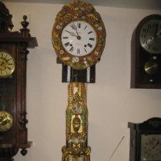 Relojes de pared: RELOJ MOREZ - PENDULO DECORADO .. Lote 26886031