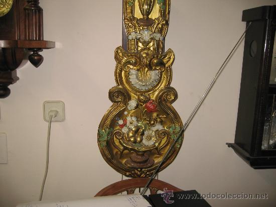 Relojes de pared: Reloj Morez - Pendulo decorado . - Foto 2 - 26886031