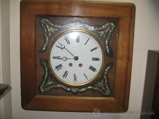 original reloj ojo de buey cuadrado maquina par - Comprar Relojes ...