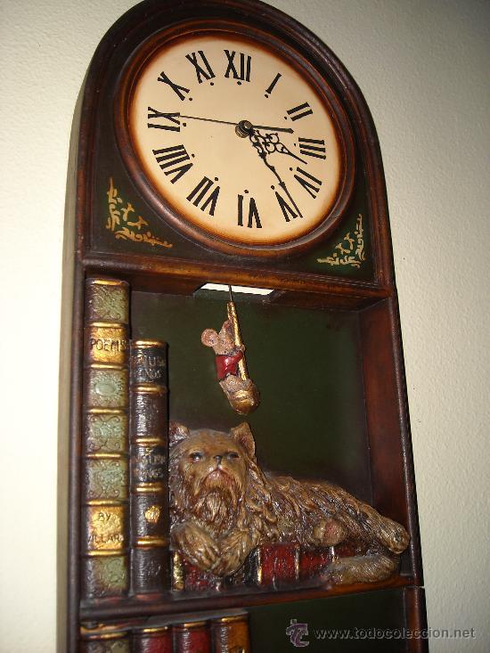 Relojes de pared: reloj de pared de madera, - Foto 3 - 27306567