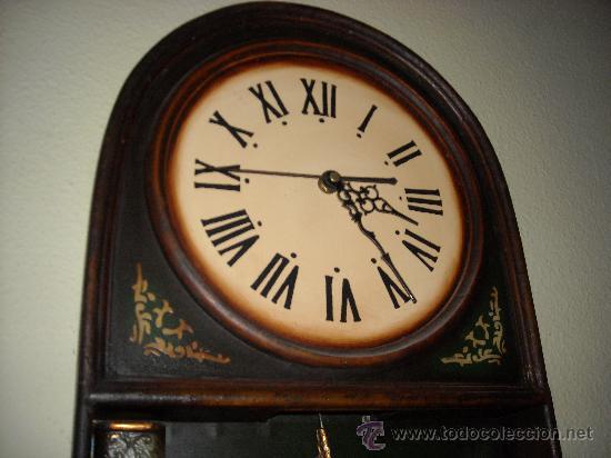 Relojes de pared: reloj de pared de madera, - Foto 4 - 27306567
