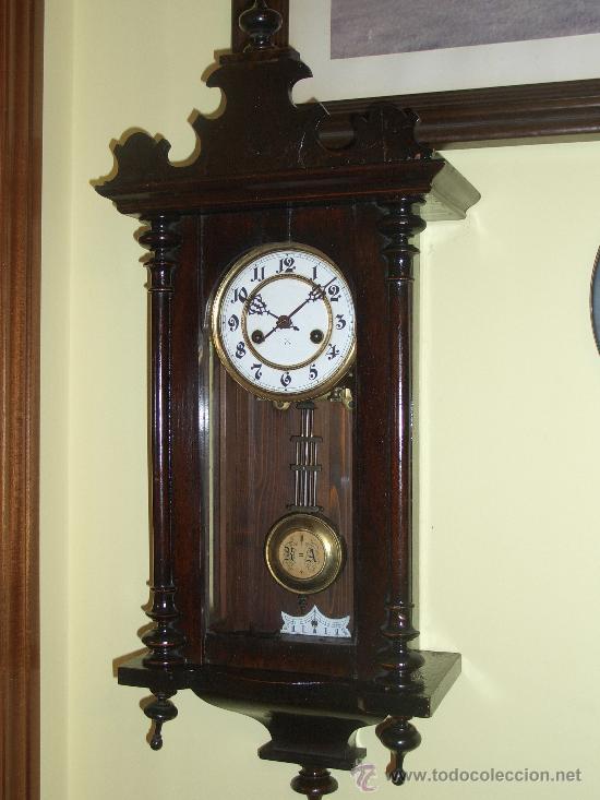 Reloj de pared junghans vendido en venta directa 23255970 - Relojes rusticos de pared ...