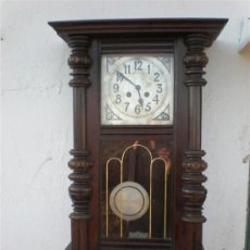 Relojes de pared: RELOJ DE PARED AMERICANO. Lote 24583403