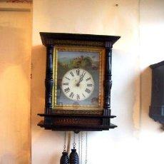 Relojes de pared: RARO RELOJ SELVA NEGRA MUSICAL SOLO TOCA LAS HORAS. GRAN TAMAÑO RECIEN RESTAURADO. Lote 26968817