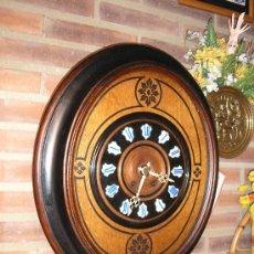 Relojes de pared: !OJO BUEY MARQUETERIA FRANCIA- AÑO 1890--EL MEJOR PRECIO. Lote 26038415