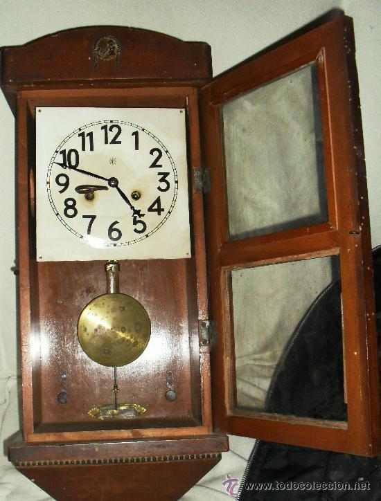 super gamga reloj de pendulo a cuerda antig comprar