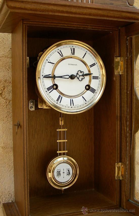 Reloj De Pared Antiguo Marca Ducena Con Soneria Comprar