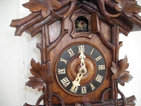 Antiguo reloj de cuco selva negra beha eisen comprar - Mecanismo reloj pared ...