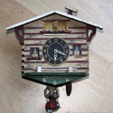Relojes de pared: ANTIGUO RELOJ SELVA NEGRA (PRECISA RESTAURACION). Lote 27318617