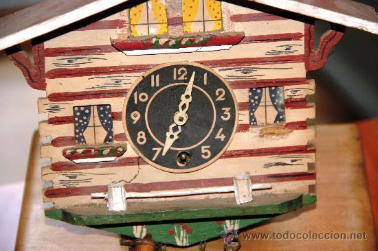 Relojes de pared: ANTIGUO RELOJ SELVA NEGRA (PRECISA RESTAURACION) - Foto 2 - 27318617