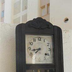 Relojes de pared: RELOJ DE PARED REGULADORA . Lote 28068551
