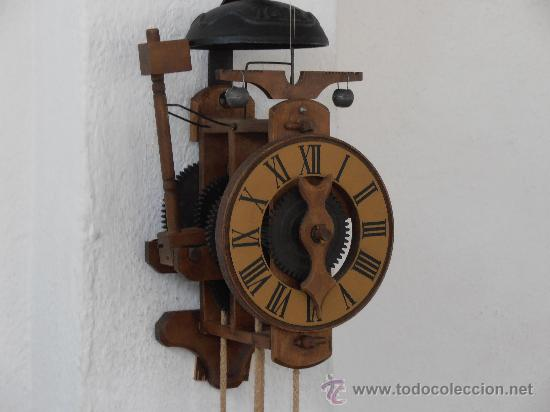 Espectacular reloj de barra de balanza selva comprar - Mecanismo reloj pared ...