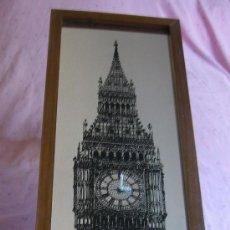 Relojes de pared: RELOJ ESPEJO CON LA TORRE DE LONDRES. Lote 71721110