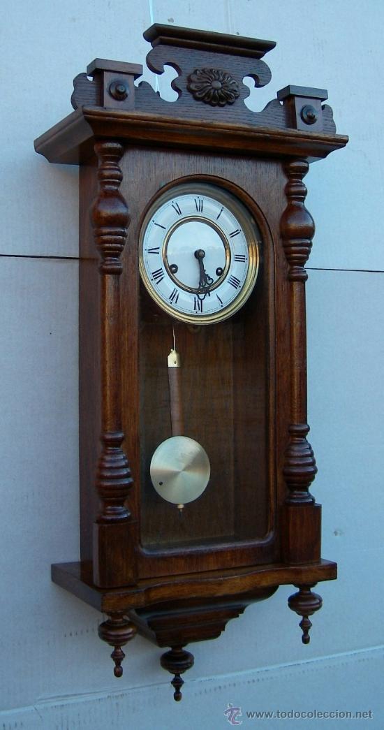 reloj de pared antiguo marca ducena funcionando comprar