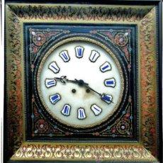Relojes de pared: PRECIOSO RELOJ ISABELINO. Lote 28560911