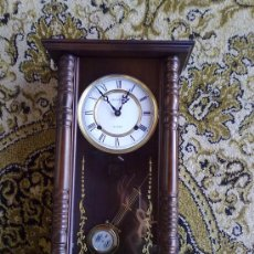 Relojes de pared: RELOJ DE PARED DE CUERDA. Lote 29036355