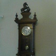 Relojes de pared: RELOJ DE PARED DE CUERDA. Lote 29216925