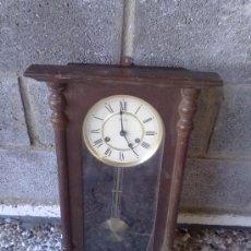 Relojes de pared: RELOJ DE PARED DE CUERDA. Lote 29316098