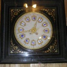 Relojes de pared: ESPECTACULAR RELOJ DE PARED ANTIGUO. Lote 29370969