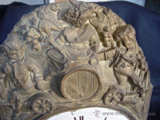 MECANISMO MOREZ SIGLO XIX - B (Relojes - Pared Carga Manual)