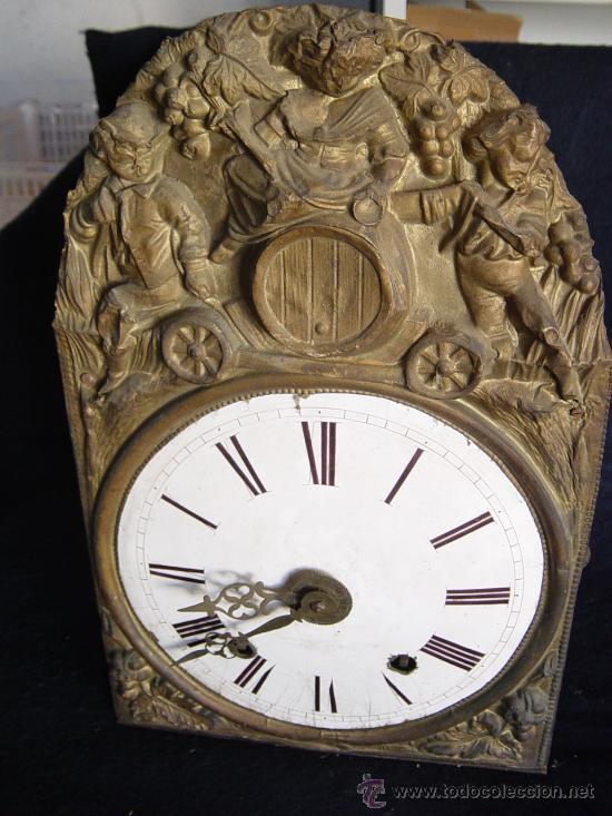 Relojes de pared: MECANISMO MOREZ SIGLO XIX - B - Foto 2 - 29379330
