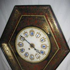 Relojes de pared: ESPECTACULAR RELOJ DE PARED ANTIGUO. Lote 29552671