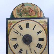 Relojes de pared: RELOJ TIPO RATERA DE UNA CAMPANA, . SIN PESOS NI PÉNDULO, .. Lote 29859442