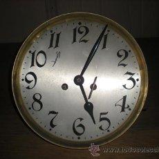 Relojes de pared: ESFERA GRAN RELOJ CON MAQUINARIA. Lote 30656610