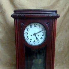 Relojes de pared: SIGLO XIX-XX .- RELOJ DE PARED ALFONSINO. Lote 30793659
