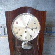 Relojes de pared: RELOJ DE PARED ESTILO ARDECO. Lote 30845275