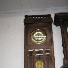 Relojes de pared: ANTIGUO RELOJ REGULADOR HOTEL DE LOS VOSGOS- ART NOUVEAU- AÑO 1910-20. Lote 30894689