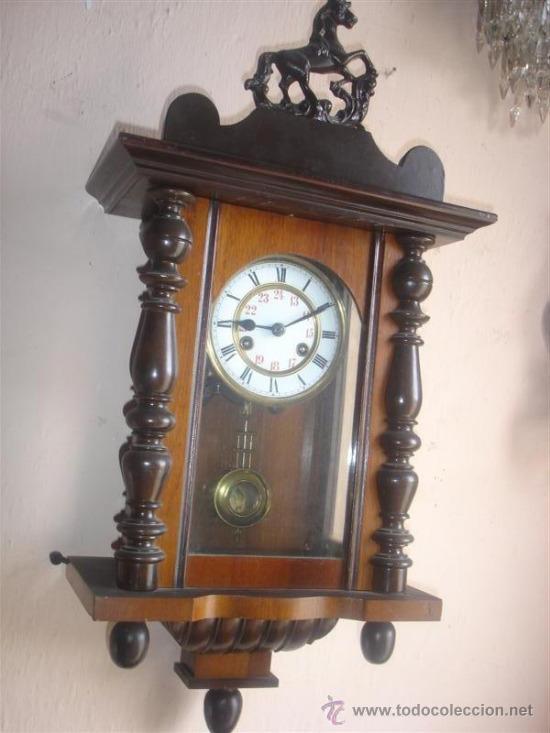 Reloj de pared con figura de caballo comprar relojes - Relojes pared antiguos ...