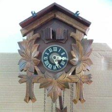 Relojes de pared: RELOJ CUCO MUSICAL ALEMAN, 2 VENTANAS, FUNCIONA.... Lote 31856638