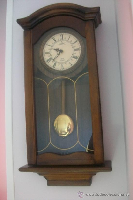 Reloj de p ndulo de pared comprar relojes antiguos de for Reloj de pared con pendulo