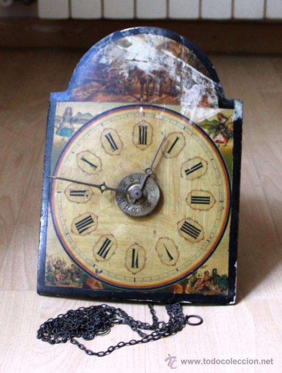 ANTIGUO RELOJ RATERA PARA RESTAURAR (Relojes - Pared Carga Manual)