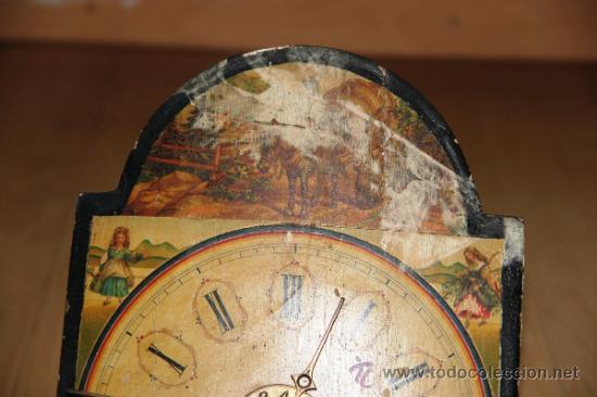 Relojes de pared: ANTIGUO RELOJ RATERA PARA RESTAURAR - Foto 7 - 31921517