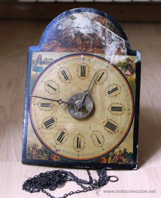 Relojes de pared: ANTIGUO RELOJ RATERA PARA RESTAURAR - Foto 2 - 31921517