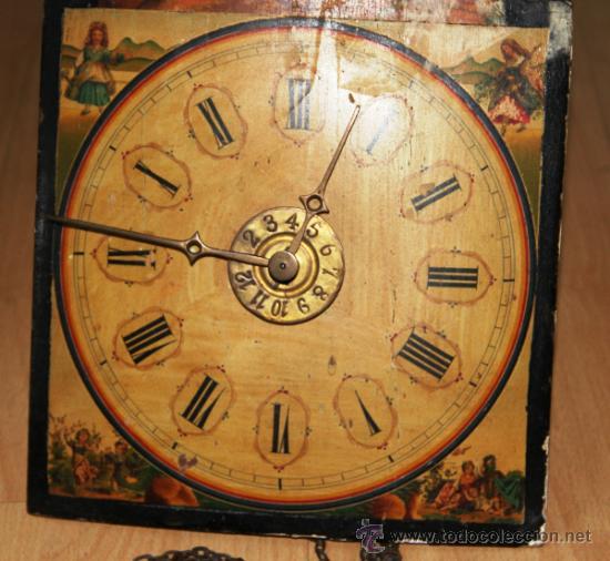 Relojes de pared: ANTIGUO RELOJ RATERA PARA RESTAURAR - Foto 6 - 31921517