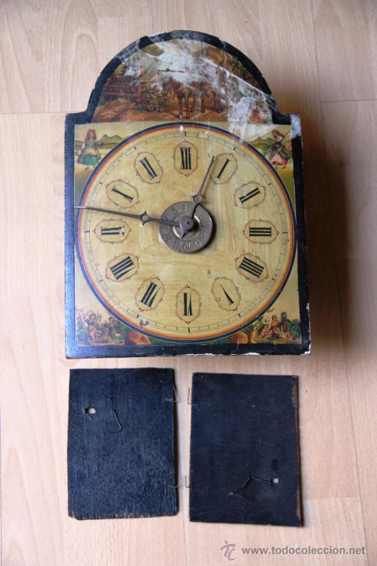 Relojes de pared: ANTIGUO RELOJ RATERA PARA RESTAURAR - Foto 5 - 31921517