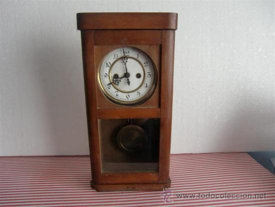 Reloj de pendulo de pared caja de madera comprar relojes - Reloj pared madera ...