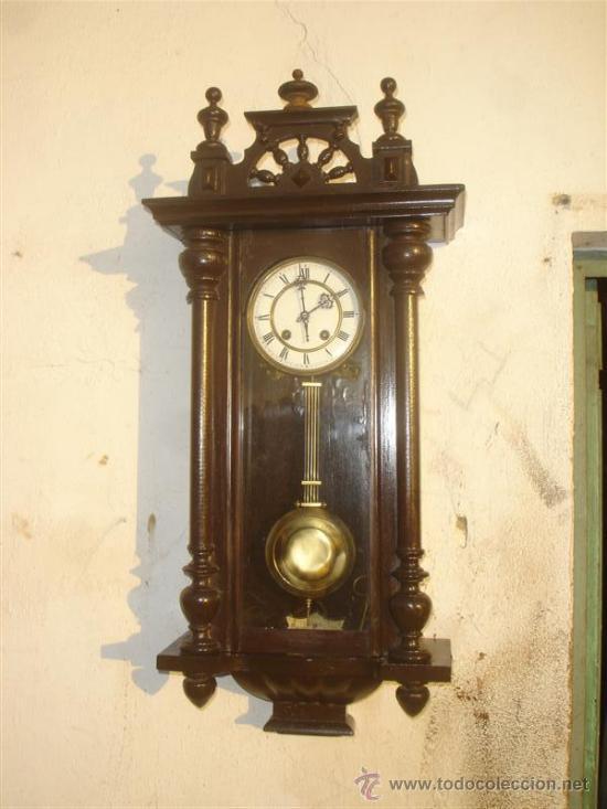 RELOJ DE PARED AMERICANO (Relojes - Pared Carga Manual)