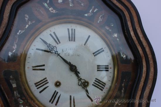 Relojes de pared: RELOJ DE PARED FRANCES - Foto 2 - 33629287