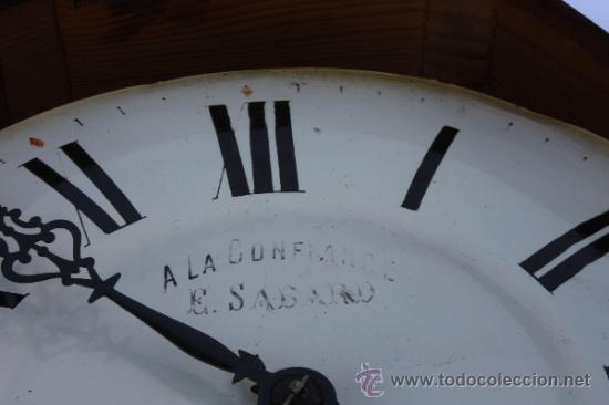 Relojes de pared: RELOJ DE PARED FRANCES - Foto 4 - 33629287