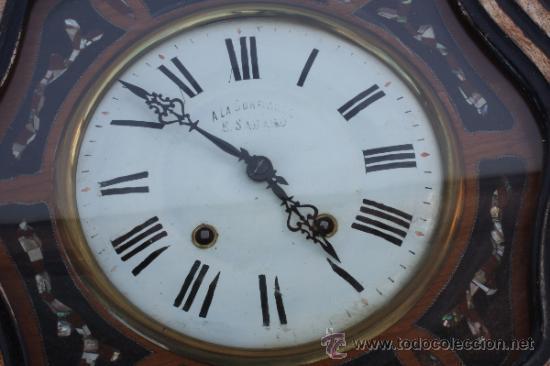 Relojes de pared: RELOJ DE PARED FRANCES - Foto 3 - 33629287