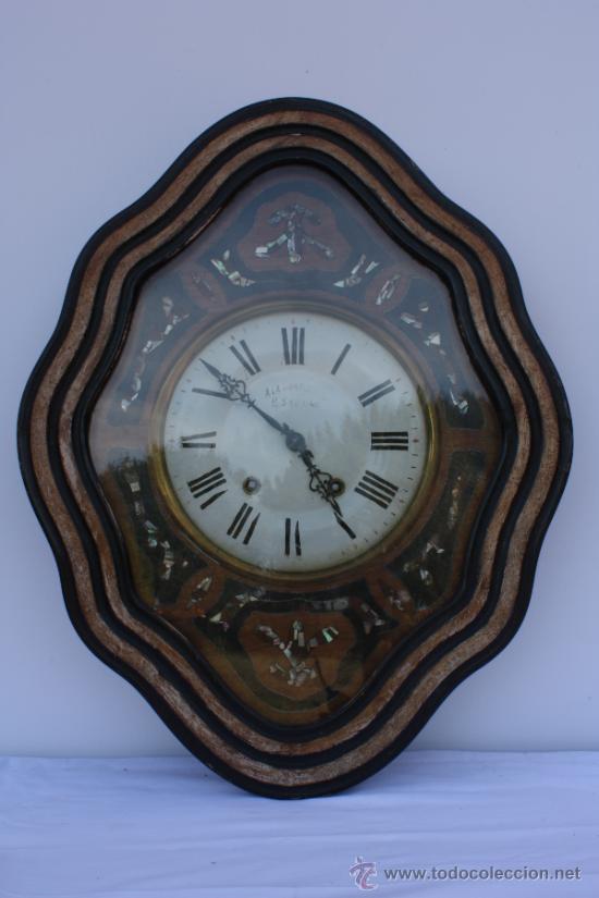 RELOJ DE PARED FRANCES (Relojes - Pared Carga Manual)