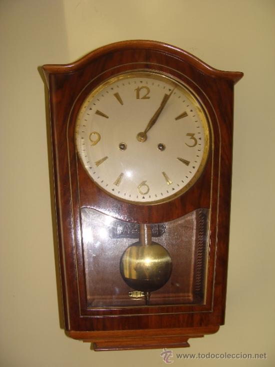 Mueble antiguo reloj de pared modernista comprar relojes antiguos de pared carga manual en - Relojes pared antiguos ...